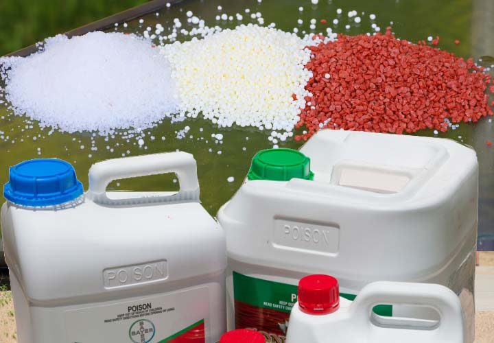 the Rack Products Fertilizer and Chemicals