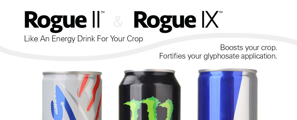 ROGUE - Energy Drink for your Crops